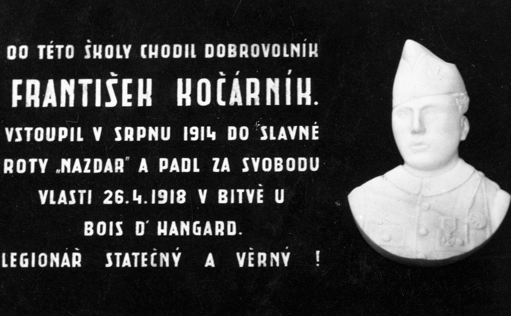 Pamětní deska zr. 1936